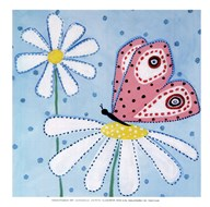 Daisies and Butterflies II - mini