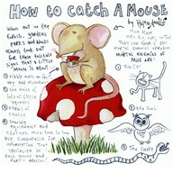 How to Catch a Mouse  Fine Art Print