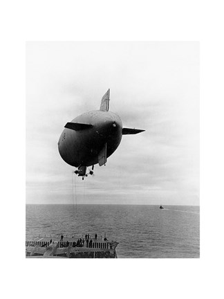 Framed L-8 Blimp Print