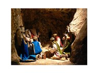 Nativity Adoration of the Magi  Fine Art Print
