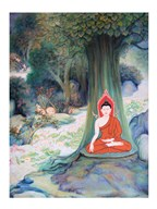 Paintings of Life of Gautama Buddha Art