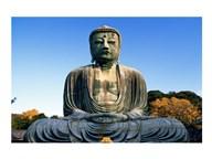 Statue of Buddha, Daibutsu, Kamakura, Tokyo, Japan  Fine Art Print