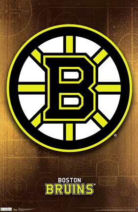 Framed Bruins® - Logo 11 Print