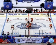 The Opening Face-Off 2012 NHL Winter Classic  Fine Art Print