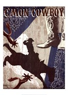 C'mon Cowboy  Fine Art Print