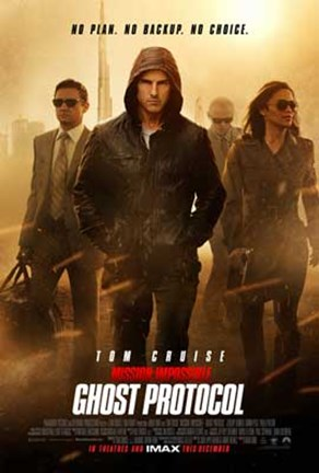 Framed Mission: Impossible - Ghost Protocol Print