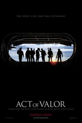 Framed Act of Valor Print