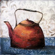 Red Pots I  Fine Art Print