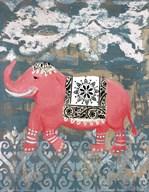 Pink Bazaar I  Fine Art Print