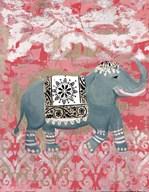 Pink Bazaar II  Fine Art Print