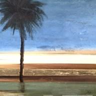 Coastal Palms III  Fine Art Print