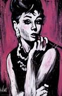 Audrey Hepburn-Fabulous  Fine Art Print