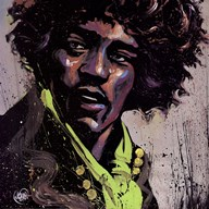 Hues of Hendrix  Fine Art Print