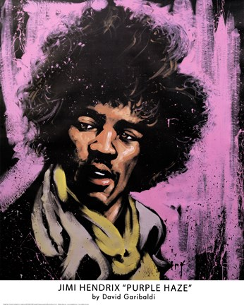 Framed Purple Haze Print