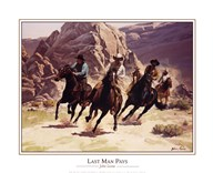 John Leone - Last Man Pays Size 16x20