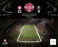 The Superdome University of Alabama Crimson Tide 2012 BCS National Champions  Fine Art Print