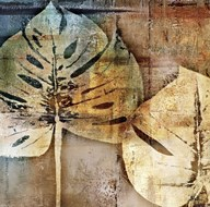 gold leaves II  Fine Art Print