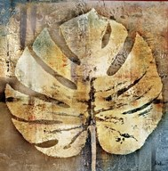 gold leaves I  Fine Art Print