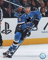Joe Pavelski 2011-12 Action Art