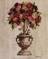 Pink and Red Rose Topiary