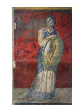 Framed Wall Painting from a Reception Hall from the Villa of P. Fannius Synistor at Boscoreale Print