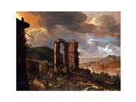 Landscape with Roman Ruin Art