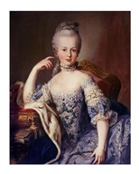 Portrait of Marie Antoinette Art