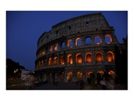 Colosseum at Night Art