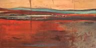 Red Horizon II  Fine Art Print