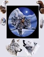 Moonlit Warrior  Fine Art Print