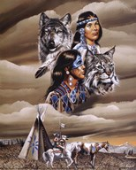 Spirit of the Tribe  Fine Art Print