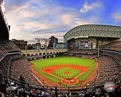 Framed Minute Maid Park 2012 Print