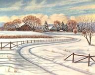 Winter Scene I Art