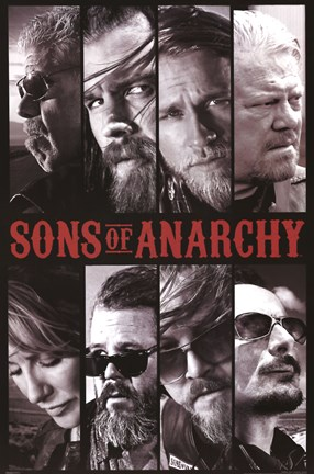Framed Sons of Anarchy Print