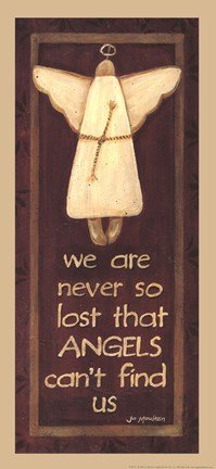 Framed We Are Never So Lost Print
