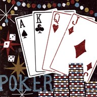 Vegas - Cards  Fine Art Print