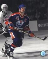 Mark Messier 1990 Stanley Cup Finals Spotlight Action  Fine Art Print