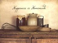 Happiness is Homemade Art