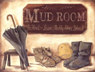 Muddy Shoes Art