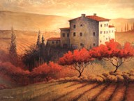 Old Tuscan Villa Art