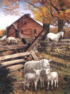 Valley Farm  Fine Art Print