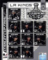 Los Angeles Kings 2012 NHL Stanley Cup Champions Composite  Fine Art Print
