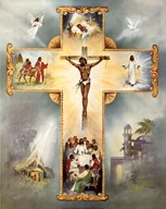 The Living Cross  Fine Art Print