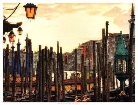 Framed Venice in Light I Print