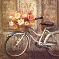 Meet Me at Le Cafe II  Fine Art Print