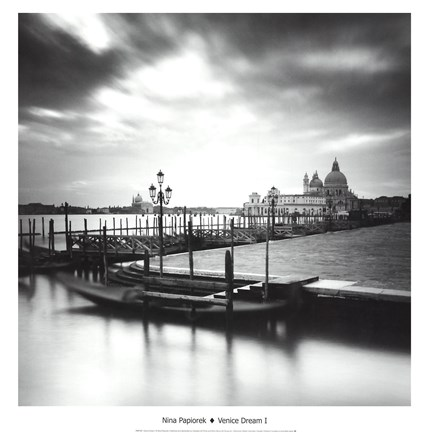 Framed Venice Dream I Print
