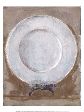 Framed Dinner Plate II Print