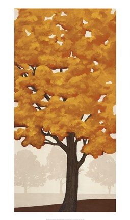 Framed Autumn's Glory II Print