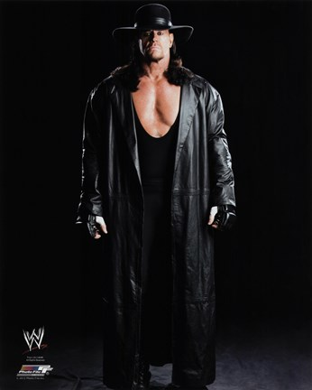 Framed Undertaker 2012 Studio - WWE Print