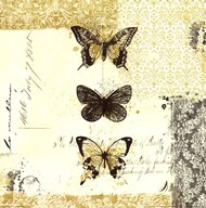 Golden Bees n Butterflies No. 2 Art